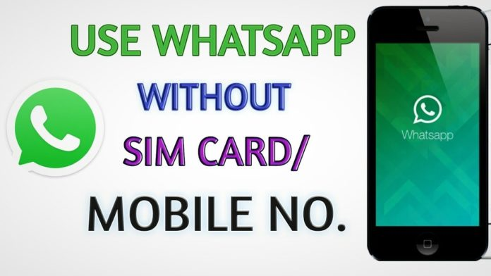 how to create fake whatsapp account without number