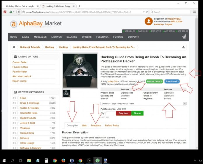 AlphaBay Shut Down After Police Raid