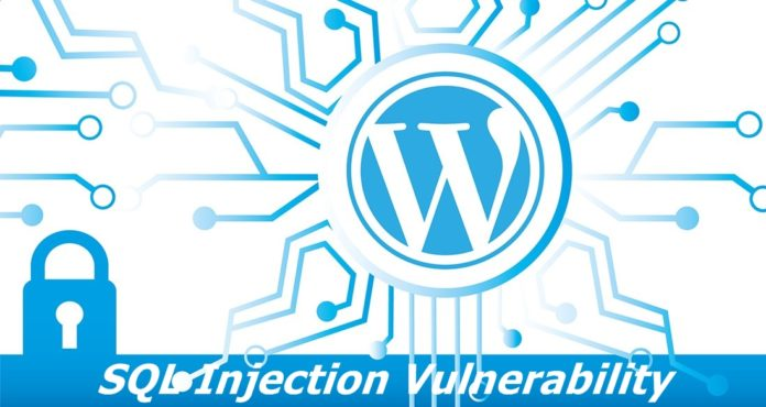 sql injection vulnerability found in wordpress plugin