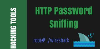 How To Sniff Password Using Wireshark