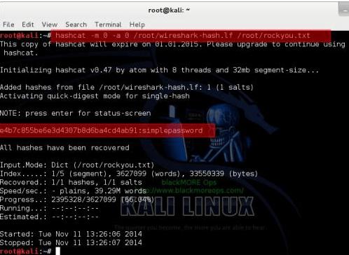 Sniff Password Using Wireshark