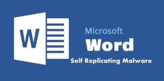 self replicating malware