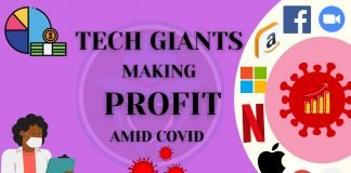 tech giants made highest profits amid covid